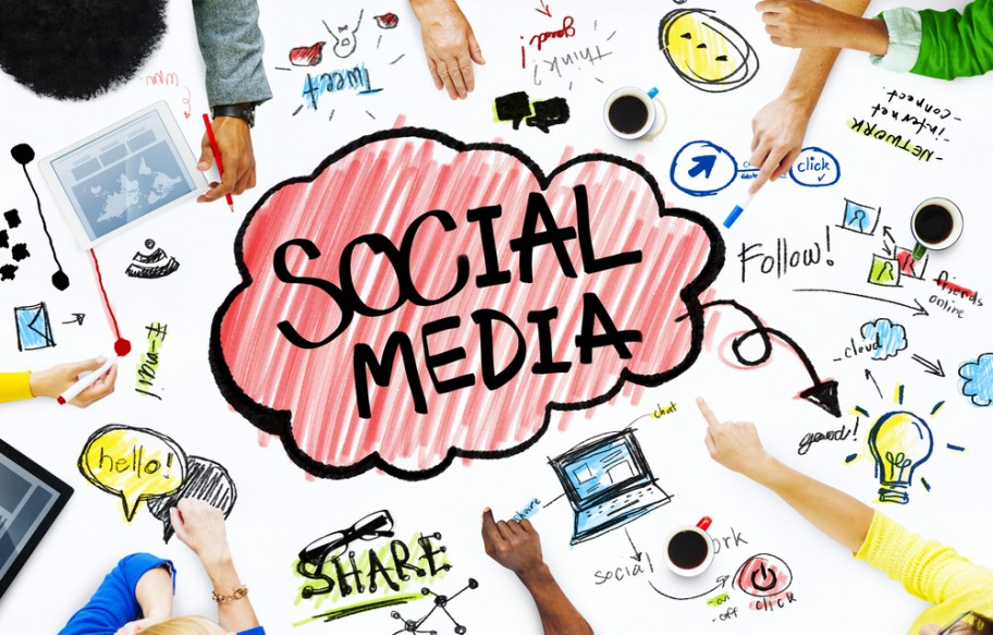 brand-through-social-media