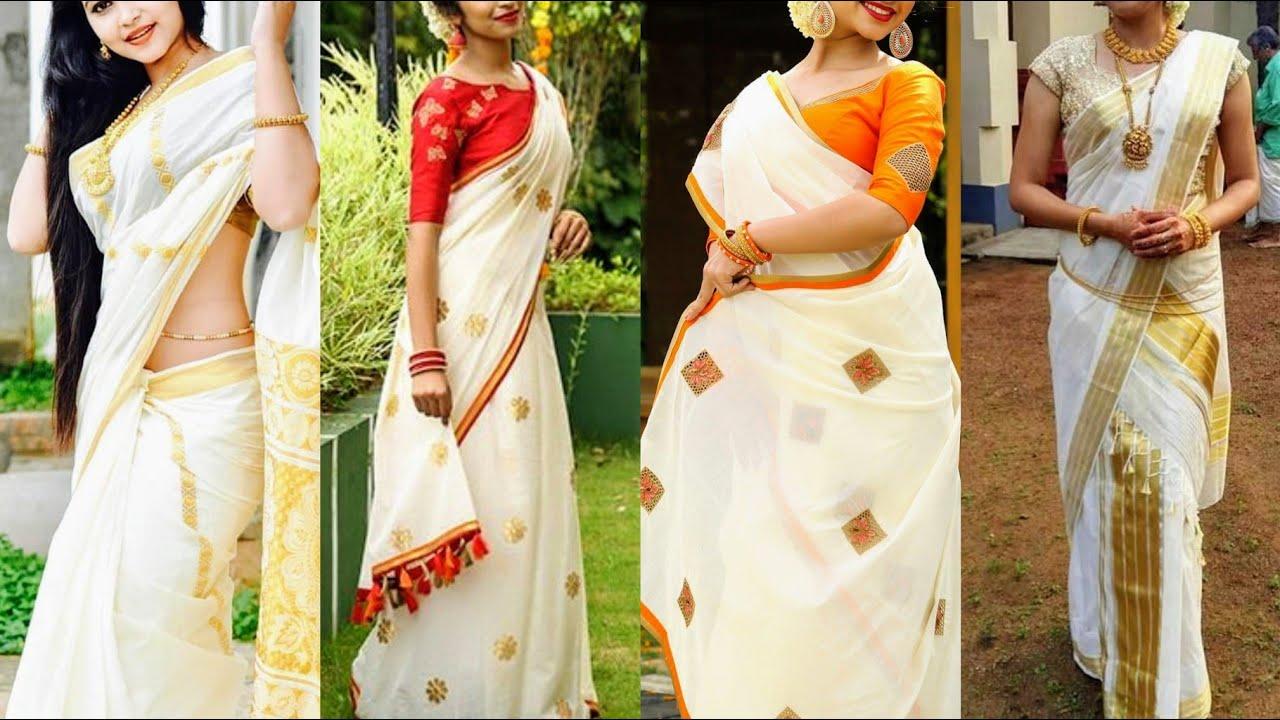 Kasavu Sarees: The Origin and Beauty of Kerala